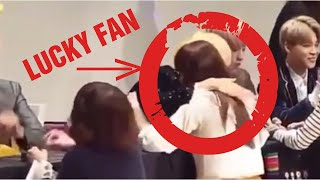 BTS LUCKY FANS~ Try not to get jealous😭😭 Part 1