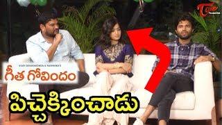 Geetha Govindam Team Interview | Vijay Deverakonda | Rashmika Mandanna | Parasuram |02