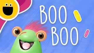 Marvie Gets a Boo Boo (Sesame Studios)