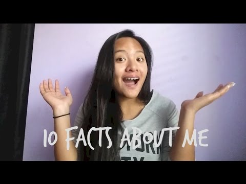 10 Facts About Me  Mae