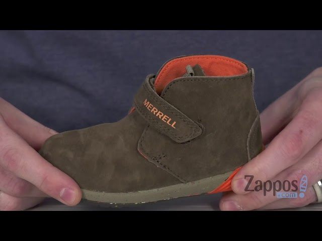 Merrell Boys Bare Steps Boot Chukka