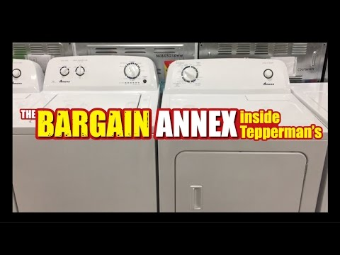 Amana [Washer & Dryer] At The Bargain Annex (Inside Tepperman's)
