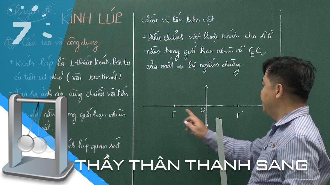 Vật lý 11: Chuyên đề Kính lúp   HỌC247