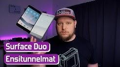 Microsoftin taittuva puhelin! - Surface Duo ensitunnelmat