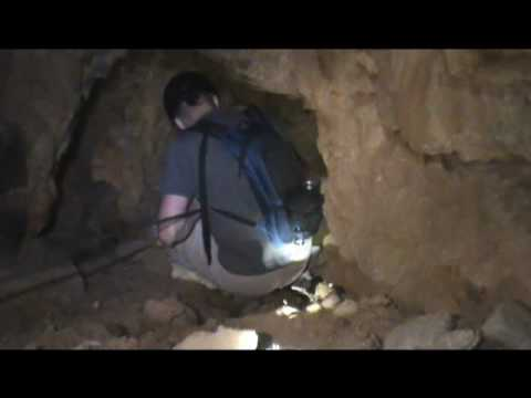 Descending a Vertical Shaft in the Abandoned Oak Canyon Mine