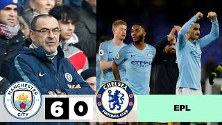 MANCHESTER CITY - CHELSEA 6 - 0 | All Goals & Extended Highlights | EPL 10/02/2019 HD