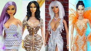 Barbie Doll Makeover Transformation ~ 30 Fresh Hacks For Your Barbie ~ Kim Kardashian, Kylie Jenner