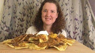 Mukbang | Chili  Cheese Nachos | Storytime