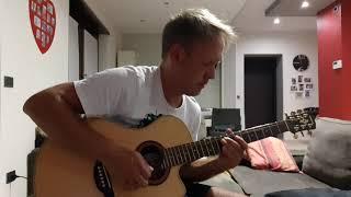 Eagles - Hotel California (acoustic guitar cover)