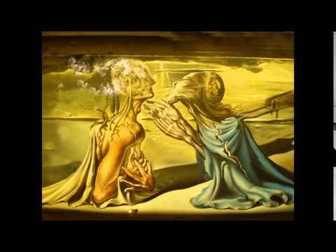 """Tristan and isolde"" Salvador Dali"