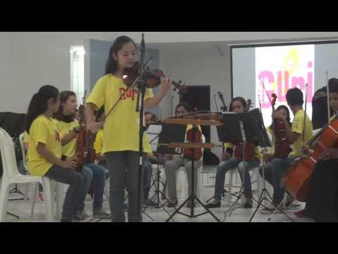Lúcia Aiko - Sólo violino - Jardim Secreto