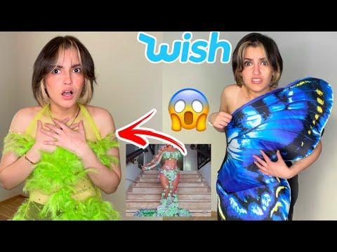 جربت فساتين سهرة من موقع wish الصيني 😐 اخر مرة !!