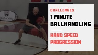 HOW TO IMPROVE YOUR  DRIBBLING: Hand Speed Challenge