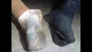EXTREMELY Worn Out and Stinky Sockjob Socks! | DIRTY and STINKY School and Sports Socks 2