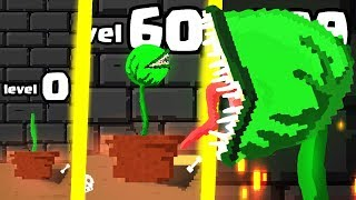 IS THIS THE STRONGEST HIGHEST LEVEL MAN EATING PLANT EVOLUTION? (9999+ GROW LEVEL)l Man-Eating Plant