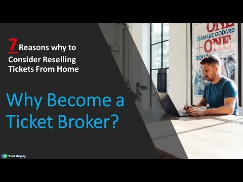 Why Become A Ticket Broker: The Benefits Of Flipping Tickets Online