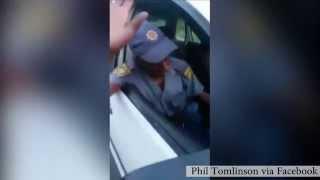 Alleged drunk cop video goes viral