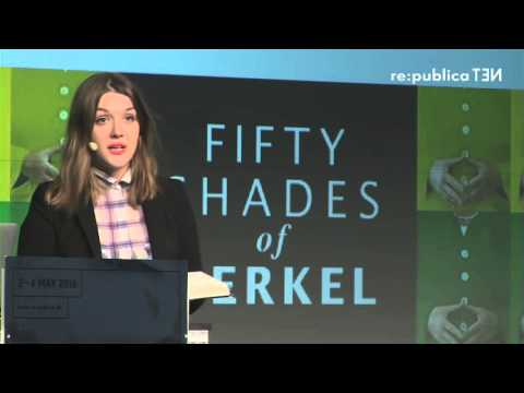re:publica 2016 – Julia Schramm: Fifty Shades of Merkel. Internetversion. on YouTube