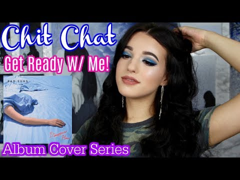 CHIT CHAT Get Ready With Me 💕🙌🏻 Album Cover Series 🌊💙 | Jordan Byers