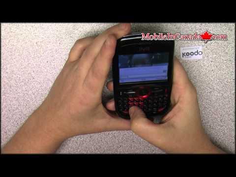 How To Enter Unlock Code On INQ Chat 3G Telus Or Koodo - Www.Mobileincanada.com
