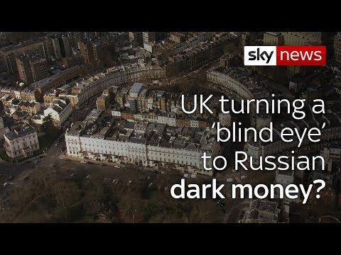 UK 'has turned a blind eye' towards Russian money-laundering