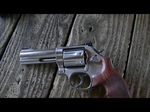 Револьвер Смит Вессон 686 Плюс: стрельба