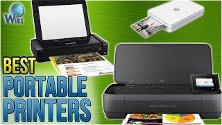 8 Best Portable Printers 2018