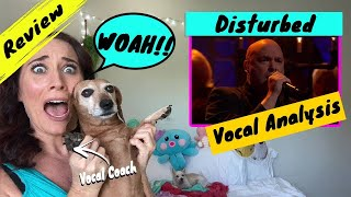 Vocal Coach Reacts Disturbed - Sound of Silence | WOW! He was...