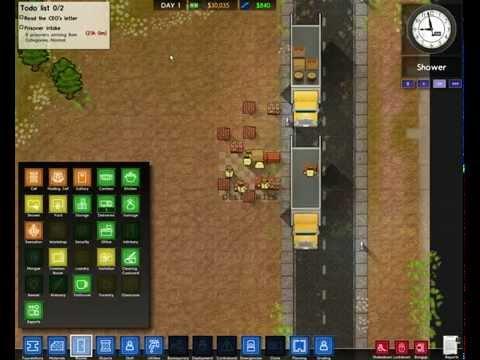 Играем в Prison Architect часть1 начало