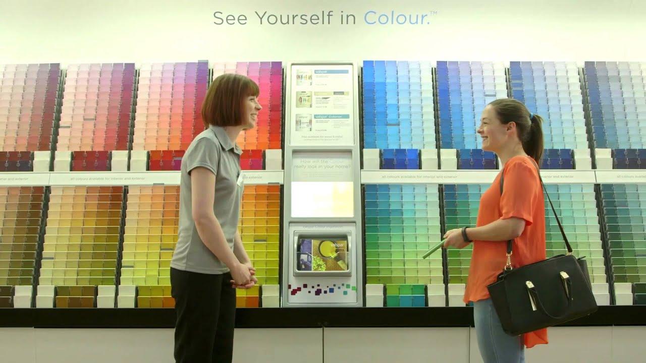 valspar paint uk colour outside the lines youtube