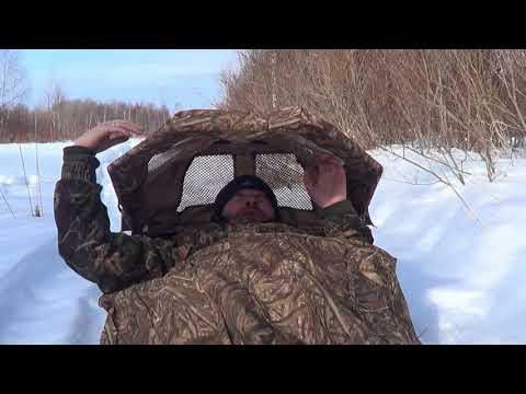 Охота на гуся.Часть 5. Про лежачие засидки