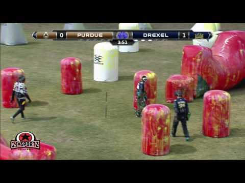 2017 College Paintball Championships OchoFinals - Drexel Dragons vs Purdue Boilermakers