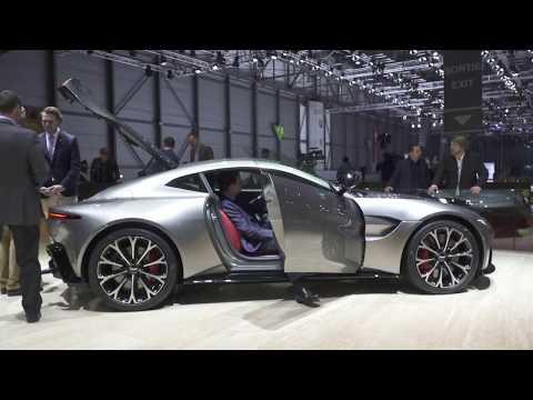 New Aston Martin Vantage Start Up