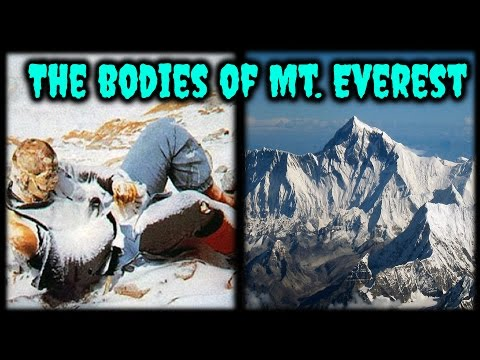 The Frozen Bodies of Mount Everest