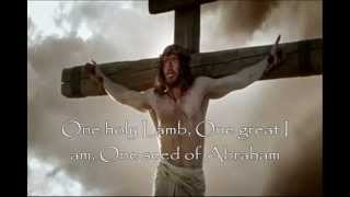 One Holy Lamb with Love Grew Where the Blood Fell