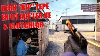 BERK ''RİP'' TEPE EN İYİ ACE' VE CLUTCHLAR!! 😂😱 (CVRTOON)