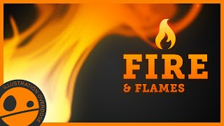 How to Draw Fire and Flames - Easy Step by Step Tutorial