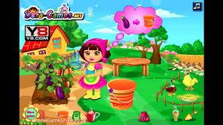 Dora The Explorer Cartoon Online Games - Dora Farm Game