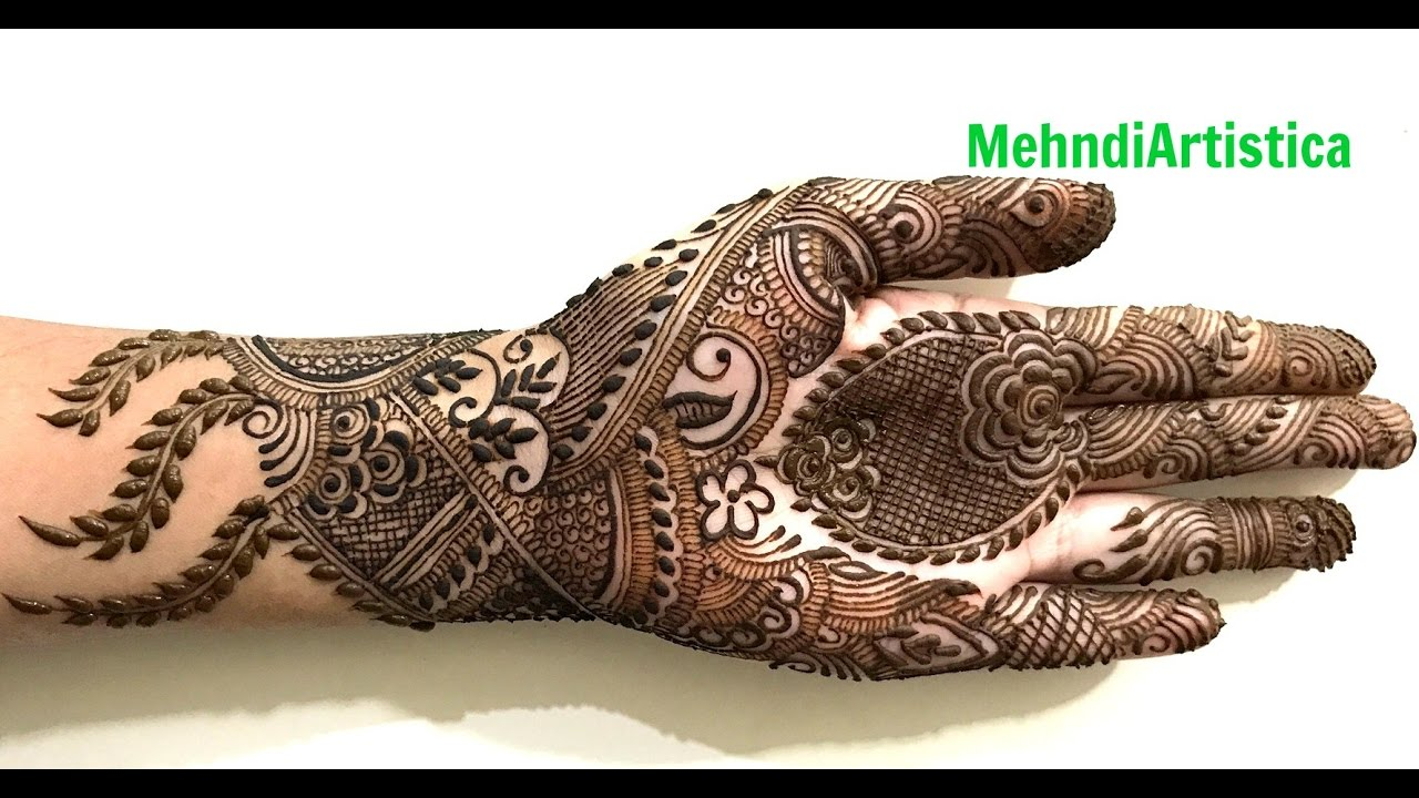 Latest Pakistani mehndi designs – Dulhan pakistani henna designs photo