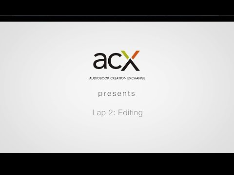 How to Succeed at Audiobook Production: Part 2 - Editing and QC