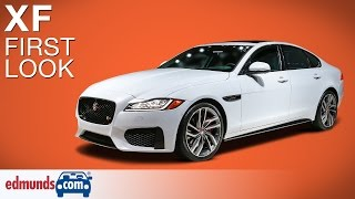 2016 Jaguar XF First Look | New York Auto Show