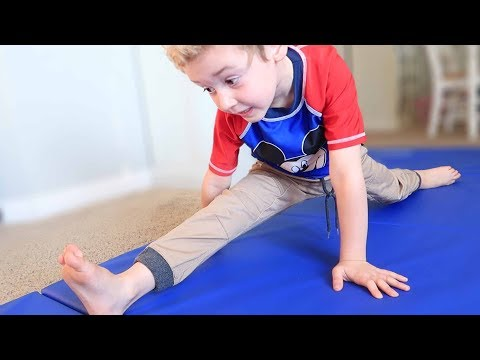 Parker's Gymnastics Progress #1 (January 2018)