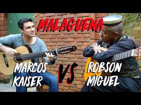 Guitar Duel: Marcos Kaiser vs Robson Miguel (Malagueña)
