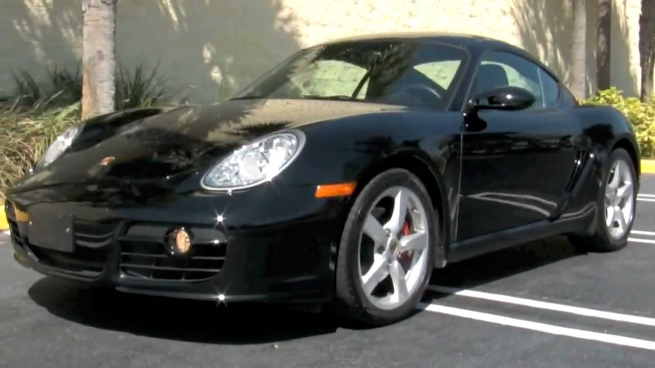 2008 Porsche Cayman S Black A2461 Youtube