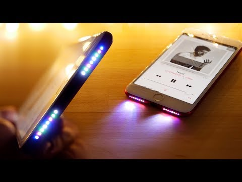 Download Youtube: Glowing Speaker iPhone Mod! See Your Music in RGB!
