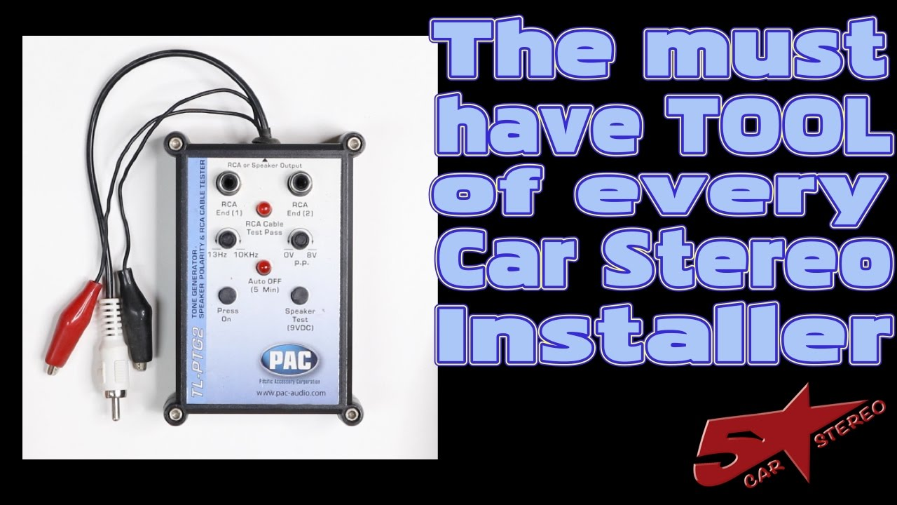 The must have tool for every Car Stereo installer