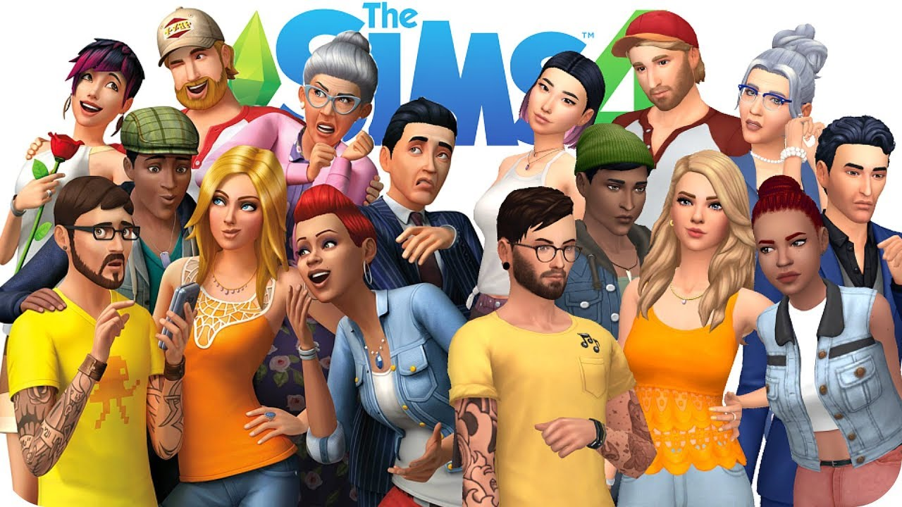 RECREATING THE SIMS 4 COVER (WITH CC) | Sims 4 Create A ...