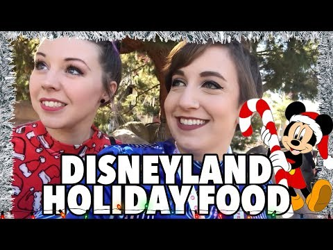 Disneyland Holiday Food - Festival of the Holidays!