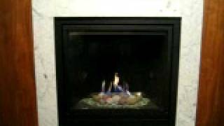 Majestic Solitaire 400dvbl Gas Fireplace.avi