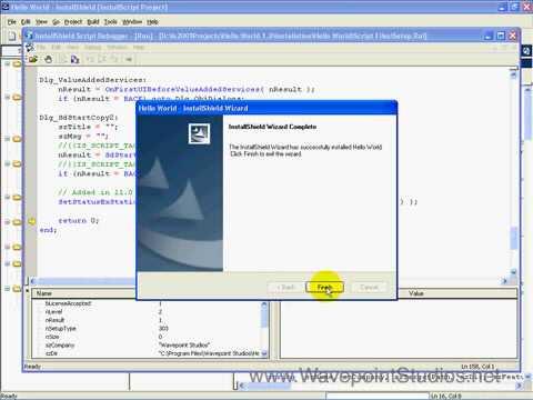 InstallScript - Using the InstallShield Script Debugger Part 2 - InstallShield 2009